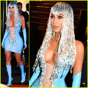 Kim Kardashian Reacts to Kourtney Kardashian Mocking Her Met Gala 2019 After Party Outfit