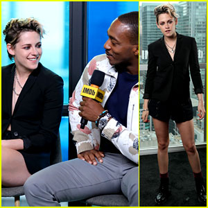Kristen Stewart & Anthony Mackie Talk About Their Love for Chris Evans at TIFF
