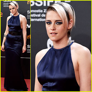 Kristen Stewart Glams Up for Third San Sebastian Event of the Day!