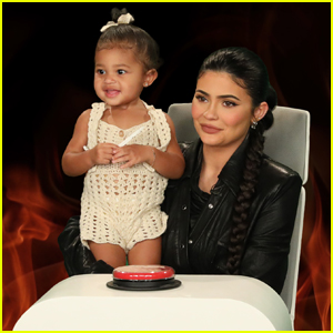 Kylie Jenner Brings Daughter Stormi to Her Interview on 'Ellen' - Watch!