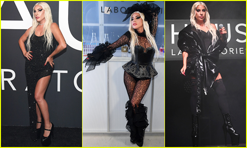 Lady Gaga Celebrates Launch of Haus Laboratories Cosmetics Line with Three Outfits!