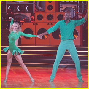 Lamar Odom Shows Off His Salsa During 'DWTS' Week 2 - Watch Now!