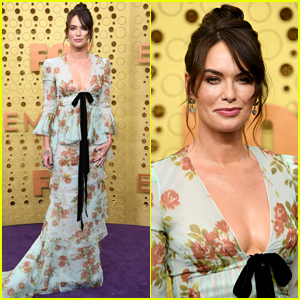 Lena Headey Debuts New Tattoo on Emmys 2019 Red Carpet!