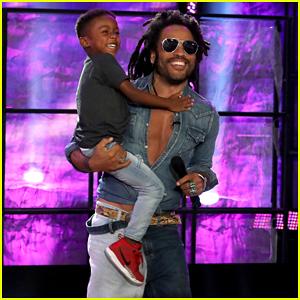 Lenny Kravitz Surprises His Biggest 5-Year-Old Fan on 'Ellen'!