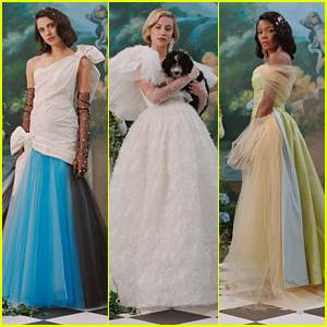 Margaret Qualley & Lili Reinhart are the Belles of the Ball in Rodarte's Spring 2020 Fashion Campaign