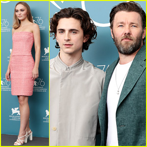 Lily Rose Depp & Timothee Chalamet Bring 'The King' to Venice