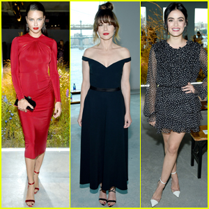 Adriana Lima, Linda Cardellini, & Lucy Hale Sport Chic Looks for Jason Wu Fashion Show