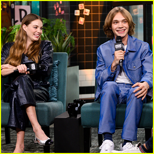Kristine Froseth & Charlie Plummer Talk Up 'Looking For Alaska' in NYC