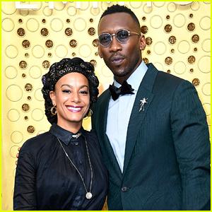 Mahershala Ali Gets Support From Wife Amatus Sami-Karim at Emmys 2019