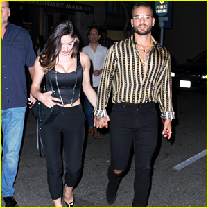 Maluma & Girlfriend Natalia Barulich Enjoy a Night Out Together in Beverly Hills