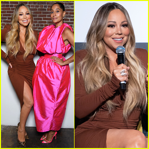 Mariah Carey Celebrates 'mixed-ish' Theme Song Release at Embrace Your Ish Party!