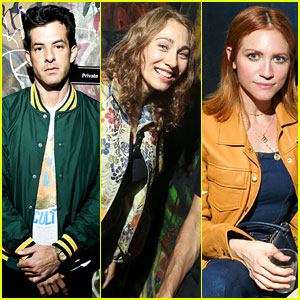 Mark Ronson, Regina Spektor, & Brittany Snow Attend VIP Preview of 'Meet Me In The Bathroom: The Art Show'