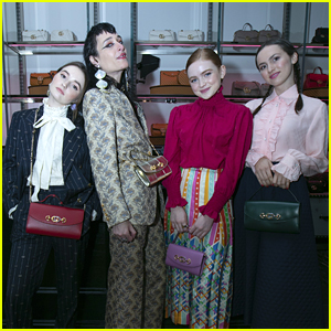 Kaitlyn Dever, Sadie Sink & Maude Apatow Celebrate Gucci's Zumi Handbag Collection in Chicago