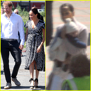 Prince Harry, Meghan Markle, & Baby Archie Arrive in South Africa, Kick Off Royal Tour!