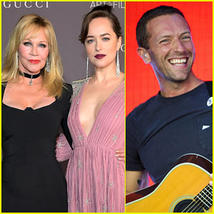 Melanie Griffith Shares Thoughts on Dakota Johnson's Boyfriend Chris Martin