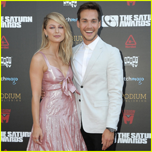 Melissa Benoist & Chris Wood Make Their First Appearance Since Getting Married