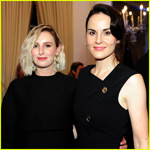 Michelle Dockery & Laura Carmichael Join 'Downton Abbey' Cast at Washington, DC Screening