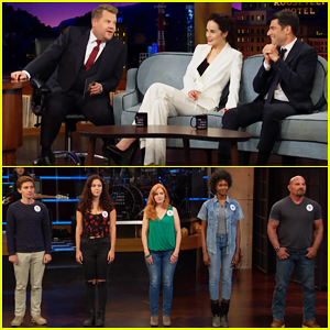 Michelle Dockery & Max Greenfield Play Hilarious UK or US Guessing Game with James Corden!
