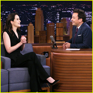 Michelle Dockery Plays 'How Dare You!' Insult Game with Jimmy Fallon on 'Tonight Show'!