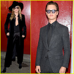 Miley Cyrus, Ansel Elgort, & More Attend Tom Ford's NYFW Show