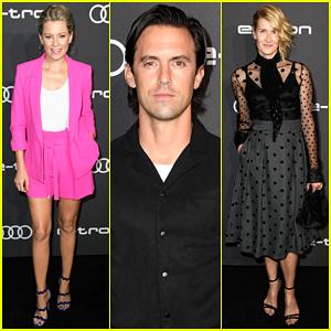 Milo Ventimiglia, Elizabeth Banks & Laura Dern Step Out for Audi's pre-Emmy Celebration!