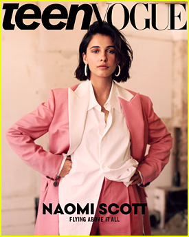 Naomi Scott Reveals Struggles With Eczema in 'Teen Vogue's September Issue
