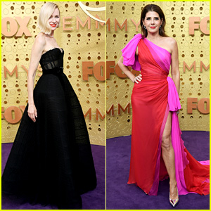 Presenters Naomi Watts & Marisa Tomei Look Elegant at Emmy Awards 2019