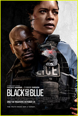 Naomie Harris Debuts New Poster for Her Movie 'Black & Blue'
