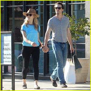 Natalie Dormer & David Oakes Hold Hands While Shopping in West Hollywood