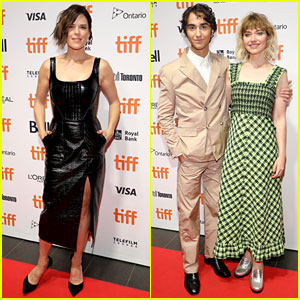 Neve Campbell Joins Alex Wolff & Imogen Poots at 'Castle in the Ground' TIFF Premiere