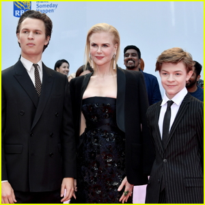 Nicole Kidman Joins 'The Goldfinch' Sons Ansel Elgort & Oakes Fegley at TIFF 2019!
