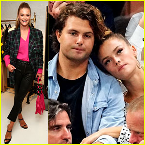 Nina Agdal Kicks Off NYFW After Date Night with Jack Brinkley-Cook!
