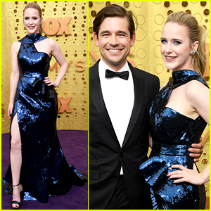 Nominee Rachel Brosnahan Sparkles at Emmys 2019 With Husband Jason Ralph