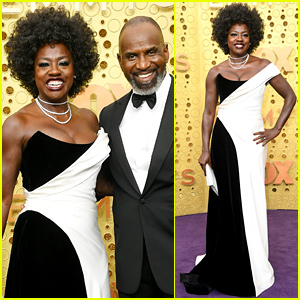 Nominee Viola Davis & Husband Julius Tennon Couple Up for Emmys 2019