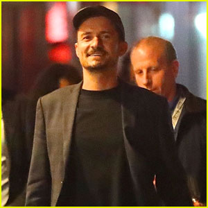 Orlando Bloom Grabs Dinner After 'Carnival Row' Promo in NYC