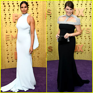 Top Chef's Padma Lakshmi & Gail Simmons Glam Up for Emmys 2019!