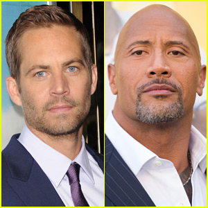 The Rock Pens Touching Note for Paul Walker on His Birthday
