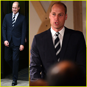 Prince William Suits Up To Officially Open BAFTA Piccadilly!