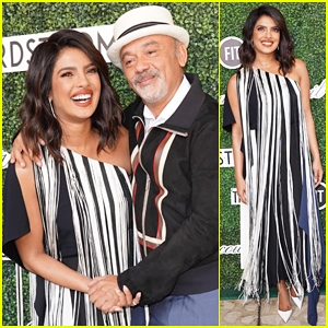 Priyanka Chopra Honors Christian Louboutin at Couture Council Award Luncheon!