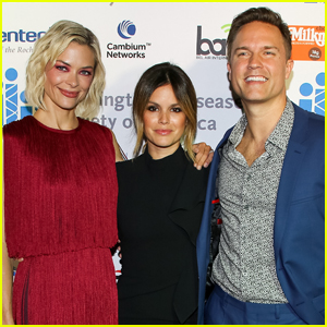 Rachel Bilson Reunites with 'Hart of Dixie' Co-Stars Jaime King & Scott Porter at Freeze HD Gala!