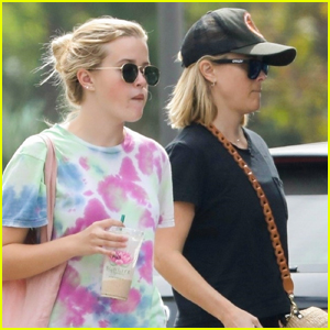 Reese Witherspoon Goes Sporty for Breakfast with Daughter Ava Phillippe