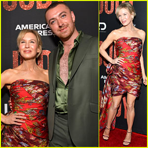 Renee Zellweger Is Joined by Sam Smith at 'Judy' Premiere!