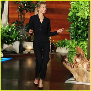 Renee Zellweger Talks To 'Ellen' About 'Judy': She's 'Remarkable, One In A Million'