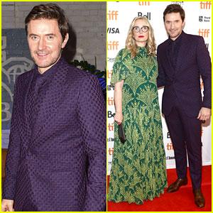 Richard Armitage Rocks a Purple Suit at 'My Zoe' TIFF Premiere with Julie Delpy