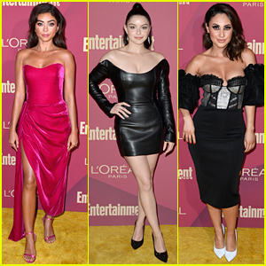 Sarah Hyland & Ariel Winter Glam It Up at EW's Pre-Emmys Party