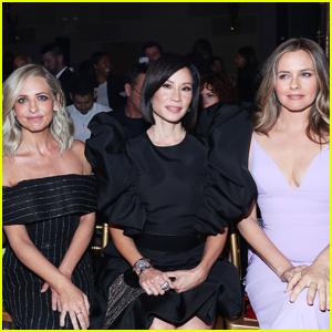 Sarah Michelle Gellar, Lucy Liu, & Alicia Silverstone Step Out for Christian Siriano Fashion Show