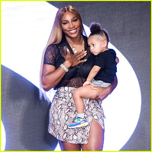 Serena Williams Walks Runway with Her Daughter at NYFW!
