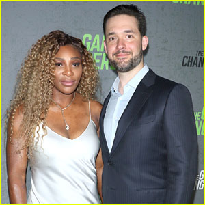 Serena Williams Supports Husband Alexis Ohanian at 'Game Changers' Premiere