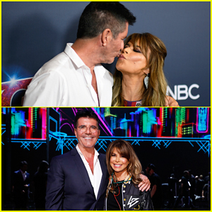 Simon Cowell Shares Kiss with Paula Abdul After Surprise 'American Idol' Reunion on 'America's Got Talent' Finale!