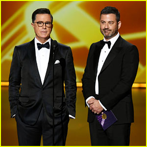 Jimmy Kimmel & Stephen Colbert Roast the Emmys for Not Having a Host